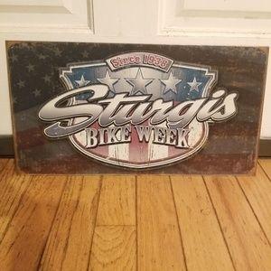 Sturgis Bike Week Tin Sign